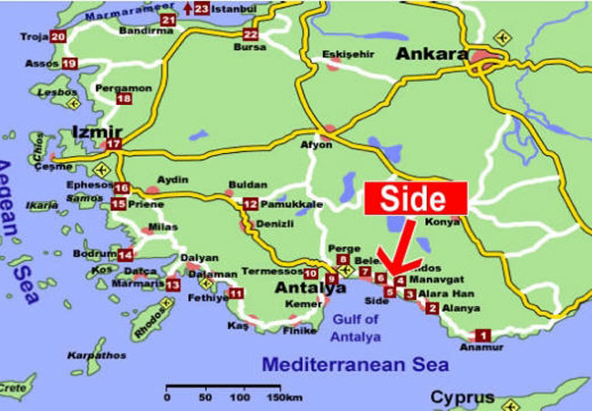 Oferta Litoral Turcia Statiunea Side